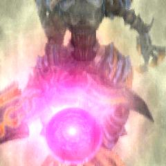 Zeromus using Big Bang in <i>Final Fantasy Tactics A2: Grimoire of the Rift</i>.