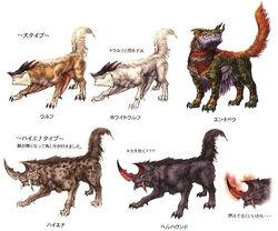 Ffxii wolf genus