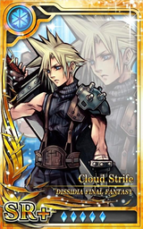 DFF Cloud Strife SR+ I Artniks