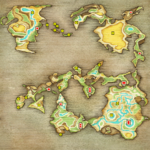FFI PSP World Map Menu
