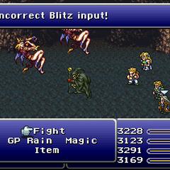 Failed Blitz Input (SNES).