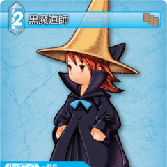 Black Mage trading card (Ice).