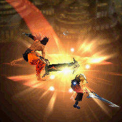 Final part of Jecht Stream in <i>Dissidia Final Fantasy</i> and <i>Dissidia 012 Final Fantasy</i>.