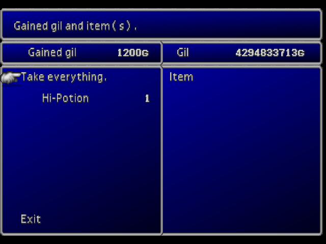 File:FFVII Spoils Screen.png