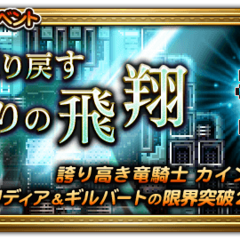 Japanese event banner for Reclaiming the Skies.