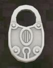 LRFFXIII Silver Padlock