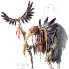 Early Yagudo concept art.