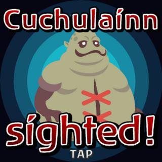 Cuchulaínn sighted inside Gate Crystal.