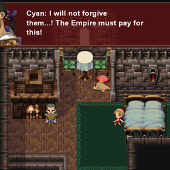 Cyan's wife and son are dead.