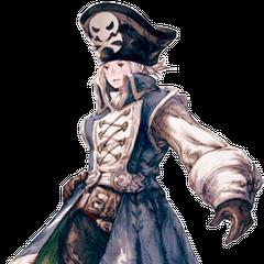 Artwork of Vaan's DLC outfit.