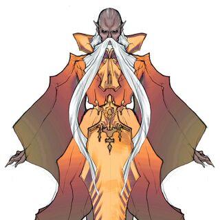 Изображение Раму в переиздании <i>Final Fantasy IV</i> для DS.