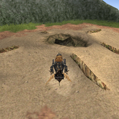Cleyra after destruction on the world map.
