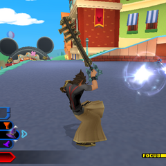 <i>Kingdom Hearts: Birth by Sleep</i>.