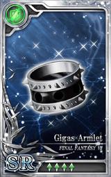 FF7 Gigas Armlet SR Artniks