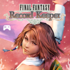 Valentine's Day 2016 title screen for the global release of <i>Final Fantasy Record Keeper</i>.