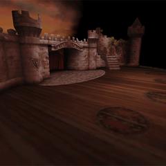 A battle background on the <i>Prima Vista</i>.