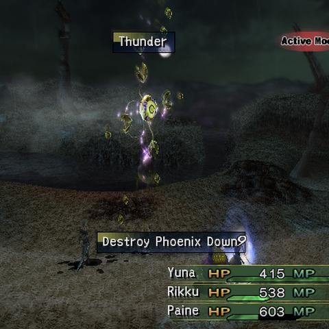 Destroy Phoenix Down.