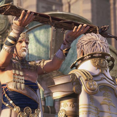 King Raminas makes Lord Rasler the commander of Dalmascan Army.