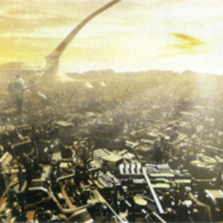 Archylte Steppe 900 AF concept artwork from <i>Final Fantasy XIII-2 Ultimania Omega</i>.