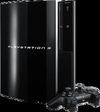 Oryginalny model PlayStation 3.