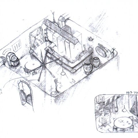 Early sketch for 7th Heaven.
