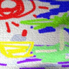 Crayon Artwork - Nibelheim.