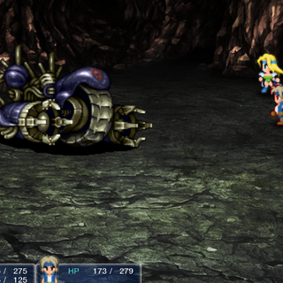 The battle in the iOS version.