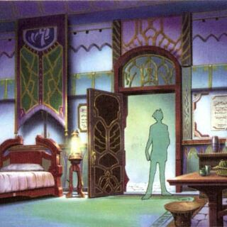 Yuna's room in the Thunder Plains Agency.