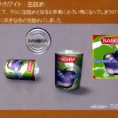 A can of Banora White juice.