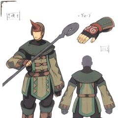 Concept art of a Summoner.
