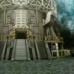 Mt. Nibel Reactor in <i>Before Crisis -Final Fantasy VII-</i>.