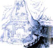 Black Mage Village FFIX Art 3