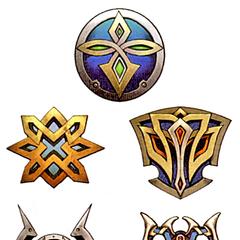 Tidus's shields.