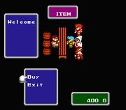 FF1 NES Shop