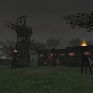 The Outpost in West Ronfaure.