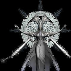 Eden's servant (white).