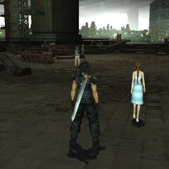 Sector 5 Slums in <i>Crisis Core -Final Fantasy VII-</i>.