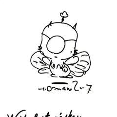 Various Yoshitaka Amano drawings of Mog.
