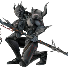 Render of Cecil's appearance as a Dark Knight (DS).