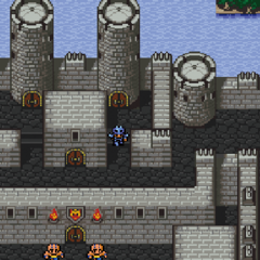 The japanese dungeon image for <i>Fabul Castle</i> in <i><a href=