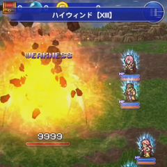 Fang's version in <i>Final Fantasy Record Keeper</i>.