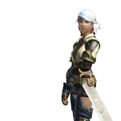 Carpenter render from the <i>Final Fantasy XIV</i> legacy.