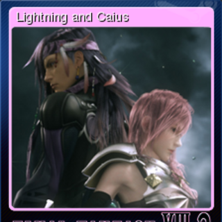 Lightning and Caius.