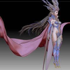 Early, in progress, render of Shiva.