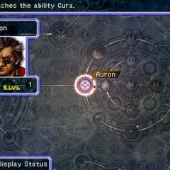 Auron's Sphere Grid (PS2).