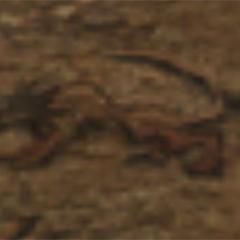 Engraving of Fenrir.