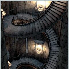 Alexandria castle stairs.