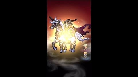 【FFRK】ラァン必殺技『メガミラージュ・斬鉄剣』