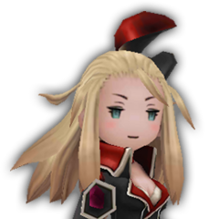 Edea as a Fencer.