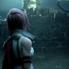 Lightning's arrival at Valhalla.